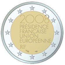 Francia 2008 - 2 euros Presidencia de la UE comercio (unc)