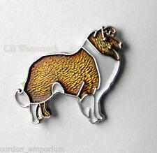Collie Lassie Dog Animal Lapel Pin Badge 1 Inch