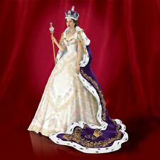 Coronation of Queen Elizabeth Royal Figurine  Bradford Exchange Figurine