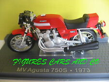 MOTO CLASSIQUE 1/24  MV AGUSTA 750 S  1973  MOTORRAD MOTORCYCLE