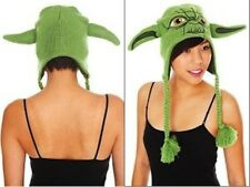 NWT RARE YODA STAR WARS Knit Laplander Beanie Hat Winter Alpine Cap LAST ONES!!!