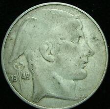 1949    Belgio Belgique Belgie    20   franc   francs   silver