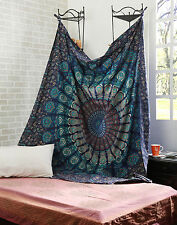 Queen Indian Wall Hanging Hippie Mandala Tapestry Bedspread Bohemian Ethnic