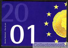 Coinset / Muntset Netherlands 2001 Gulden Queen Beatrix Unc