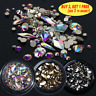 Rhinestones 3D Crystal Multi-size AB Clear Stones Gems Diy Nail Art Decoration