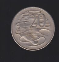 1966 Australia 20 Cent Coin  I-371