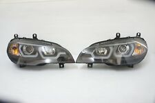 2007 2008 2009 2010 BMW E70 X5 LED Halo DRL Projector Headlight
