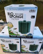 2X Large Aquarium Fish Tank Sponge Filter Biochemical Filtration Air Pump XY-380