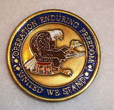 Operation Enduring Freedom Challenge Coin REDUCED!