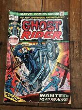 GHOST RIDER #1 NM (1973) AS IS
