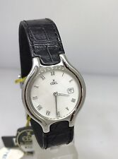 EBEL BELUGA 18K WHITE GOLD LEATHER BAND LADIES WATCH 3084960/3522 NEW WITH TAG!!