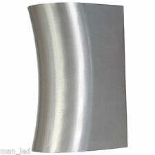New Wall Mounted Curved Up and Down Outside or Indoor Light Stainless Steel IP44