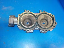 YAMAHA 20 HP OUTBOARD MOTOR CYLINDER HEAD AS SHOWN GOOD SHAPE SEE PICS