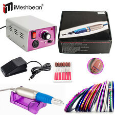 New Electric Nail Drill File Manicure Machine Pedicure Art Acrylic Tool Kit Set