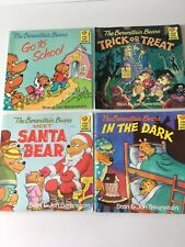 The Berenstain Bears Lot of 4 Paperback Books by Jan and Stan Berenstain
