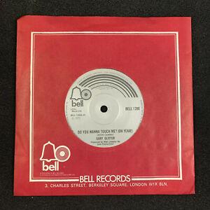 """Gary Glitter Do You Wanna Touch Me? 1973 Bell original 7"""" single Vinyl 45 EX++"""