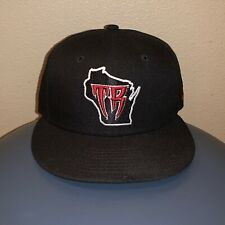 Wisconsin Timber Rattlers MiLB New Era 5950 On Field Fitted Baseball Hat 7