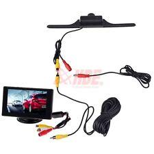 """4.3"""" TFT LCD Car Dashboard Monitor + Rearview Backup Camera Night Vision Kit"""