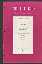 Proctologics Colon Rectum Anus Chapter 8 1955 Non-Malignant Operative Bowel