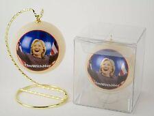 Hillary Clinton #ImWithHer Photo Ornament