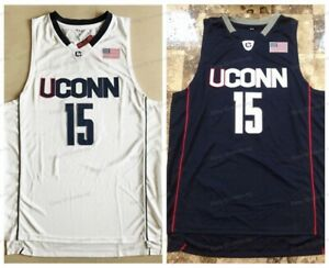 Kemba Walker #15 Uconn Huskies College Men Basketball Jersey Stitched