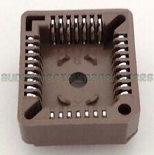 PLCC32 32 Pin PLCC DIP Socket with pins for J-Legged ICs - UK Stock