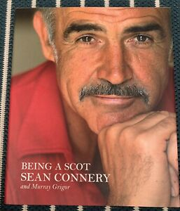 James Bond 007 Sean Connery Hand Signed 1st Edition Being A Scot Hardback Book