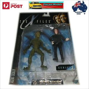 The X Files Series 1 Agent Scully Alien Action Figures (1998 OLD STOCK) Dana Scu
