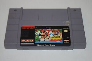 Goof Troop Super Nintendo SNES Video Game Cart