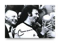 Franz Beckenbauer Signed 6x4 Photo Germany Munich Autograph Memorabilia + COA
