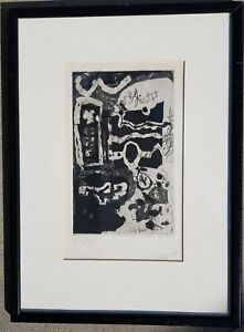 ANTONI CLAVÉ - ORIGINAL SIGNED ETCHING - SPANISH PICASSO INTEREST CLAVE