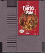THE BARD'S TALE NINTENDO SYSTEM GAME ORIGINAL NES HQ