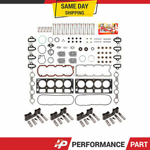 GM 5.3 AFM Lifter Replacement Kit Head Gasket Set Head Bolts, Lifters and Guides