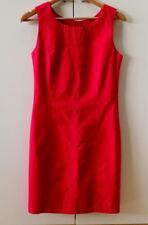 Stylish Red Shift Dress - size 8