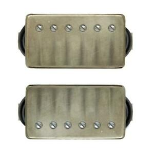 Bare Knuckle PG Blues Humbucker Pickup Set 50mm Aged Nickel Covers
