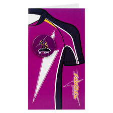 Melbourne Storm NRL Gift Card Badge Birthday Christmas Fathers Mothers Day