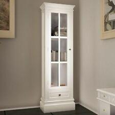 vidaXL Bookcase White Wooden Cabinet Storage Drawer Display Shelf Wall Unit