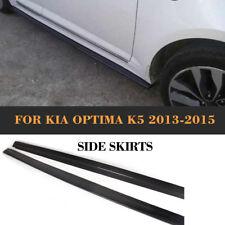 K5 Carbon Fiber Side Skirt Add-on Extension Body Kits For Kia Optima K5 13-14