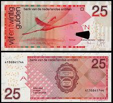 NETHERLANDS ANTILLES 25 GULDEN (P29e) 2008 UNC