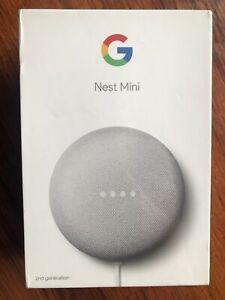 Google Nest Mini 2nd Generation Smart Speaker W/ Google Assistant Charcoal