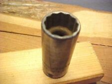 CHALLENGER 11/16 - DEEP 3/8 DRIVE 12 POINT SOCKET #1322  LATE 1950's/1960's??