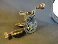 Antique C.E. Hudson Leominster Cast Iron Mechanical Apple Peeler Tool