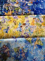 Fairies Dawn Day Dusk fabric Michael Miller DM6433 DC6434 DM6435 fat quarters