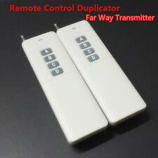 2x Long Range 433mhz Universal Clone Copy Remote Control Key Fob Duplicator
