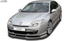 RDX Spoilerlippe für Renault Laguna 3 III Phase 1 I Ansatz Schwert Front Lippe