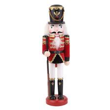 Schiaccianoci Soldato Con Fucile Legno Nutcraker Decorativo Addobbi Natale