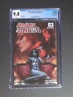 Red Sonja Age of Chaos #2 CGC 9.8 Lucio Parrillo Variant