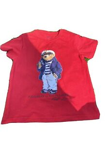 Boys Ralph Lauren Tshirt Size 4T *immaculate*