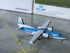 Herpa Wings KLM Fokker 50 1/500