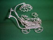 Vintage Dollhouse Wire Furniture 10 Pieces!